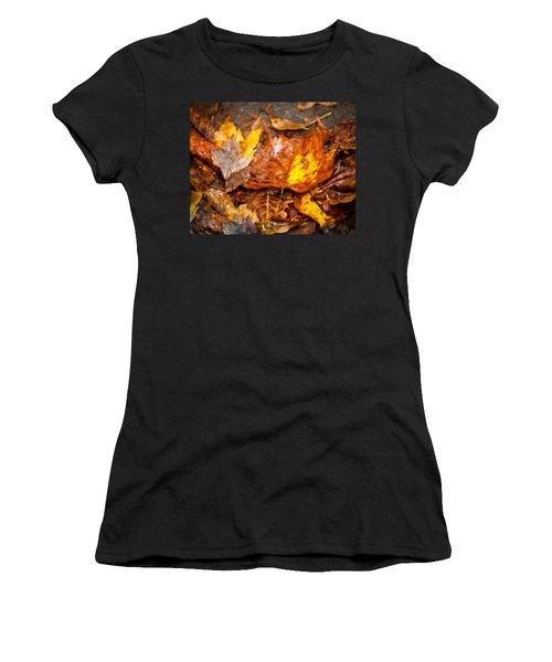 Autumn Pile Women's T-Shirt (Athletic Fit)