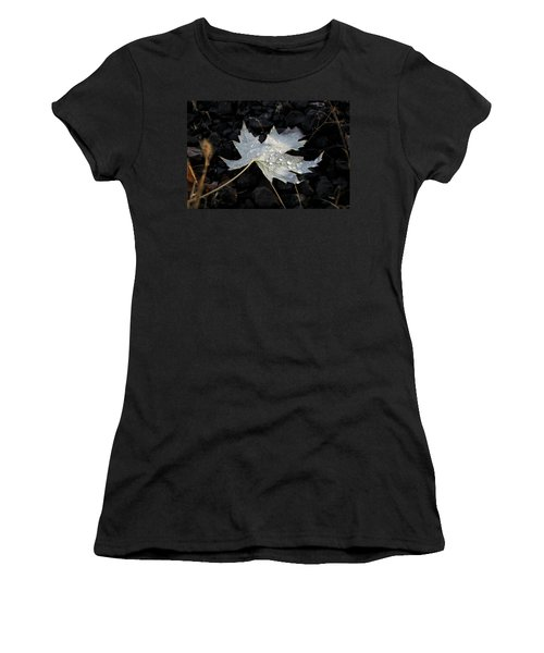 Autumn Rain Women's T-Shirt (Junior Cut) by Katie Wing Vigil