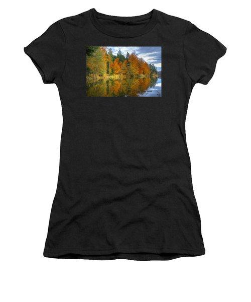 Autumn Reflection Women's T-Shirt (Athletic Fit)