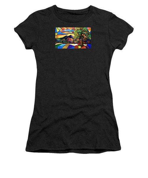 Autumn Sunrise Women's T-Shirt (Junior Cut)