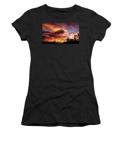 Az Monsoon Sunset Women's T-Shirt
