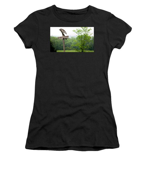 B-ball History Women's T-Shirt (Athletic Fit)
