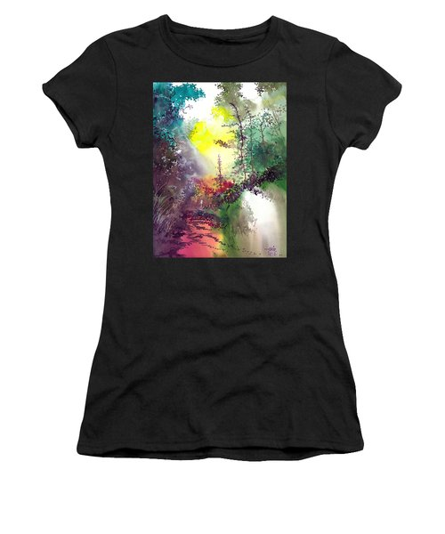 Back To Jungle Women's T-Shirt (Athletic Fit)