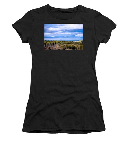Johnstone Strait High Elevation View Women's T-Shirt