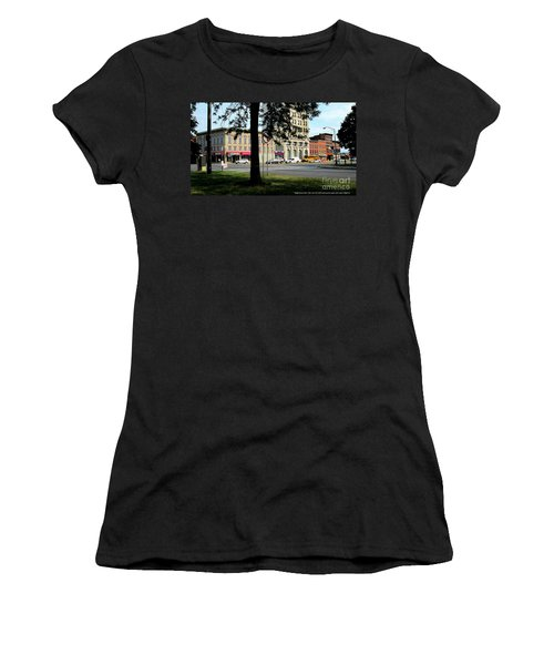Bagg's Square West Women's T-Shirt (Junior Cut) by Peter Gumaer Ogden