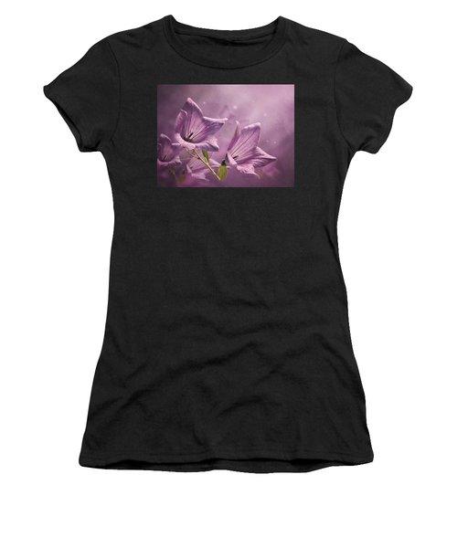 Balloon Flowers Women's T-Shirt