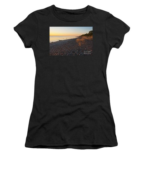 Women's T-Shirt (Junior Cut) featuring the photograph Baltic Sea Coast by Kennerth and Birgitta Kullman