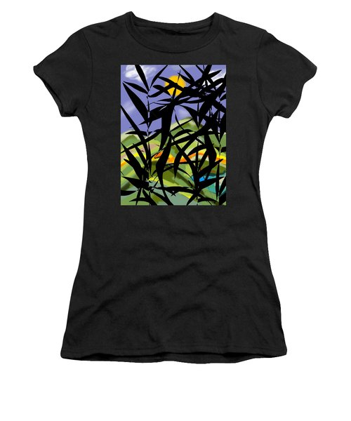 Bamboo Women's T-Shirt (Junior Cut) by Christine Fournier