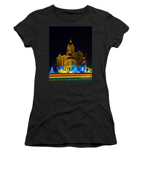 Bandera County Courthouse Women's T-Shirt (Athletic Fit)
