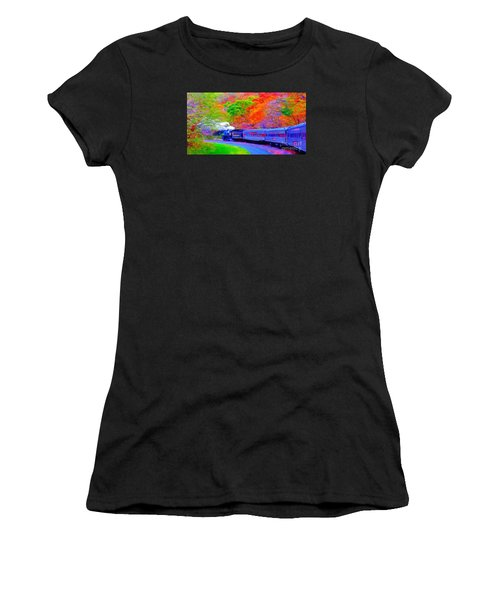 Bang Bang Choo Choo Train-a Dreamy Version Collection Women's T-Shirt