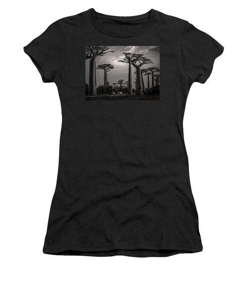Baobab Highway Women's T-Shirt (Athletic Fit)