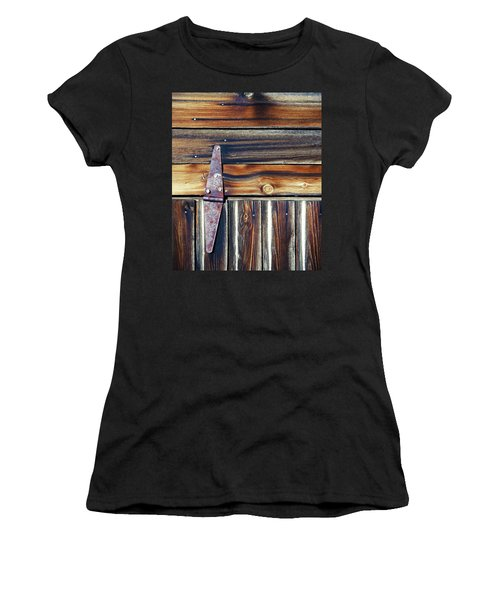 Barn Door Women's T-Shirt (Athletic Fit)