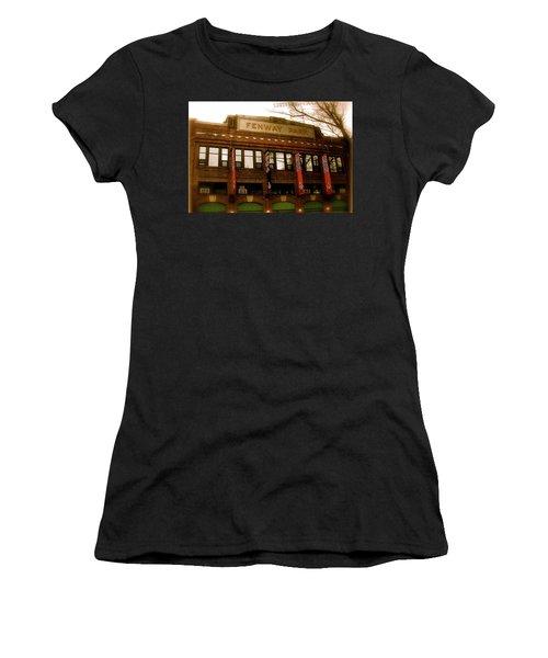Baseballs Classic  V Bostons Fenway Park Women's T-Shirt