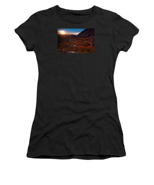 Bathing In Last Light Women's T-Shirt (Junior Cut) by Jim Garrison