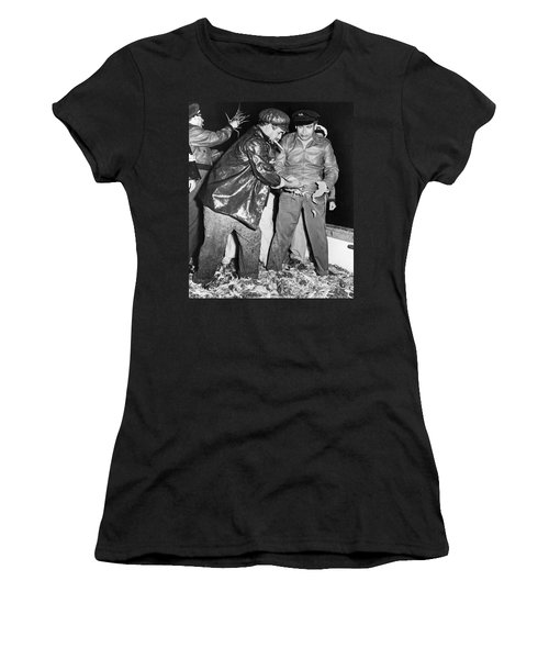 Batista Visits Shrimp Boat Women's T-Shirt