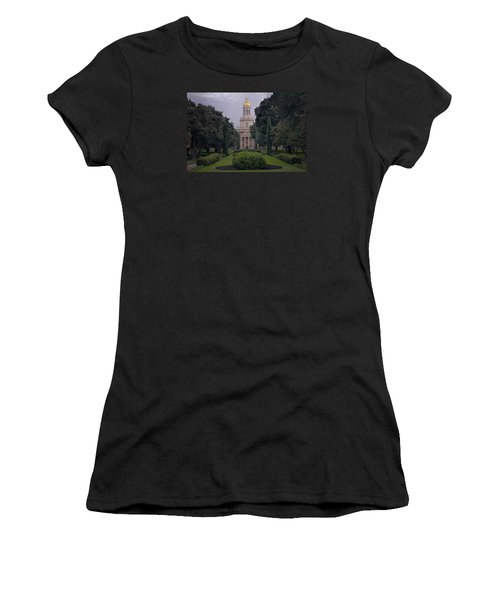 University Tower Women's T-Shirt (Athletic Fit)
