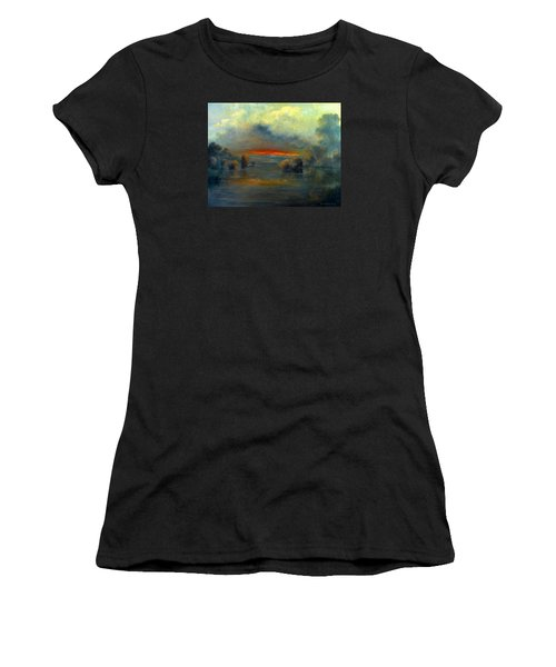Bayou Evening 22x28 Women's T-Shirt (Athletic Fit)