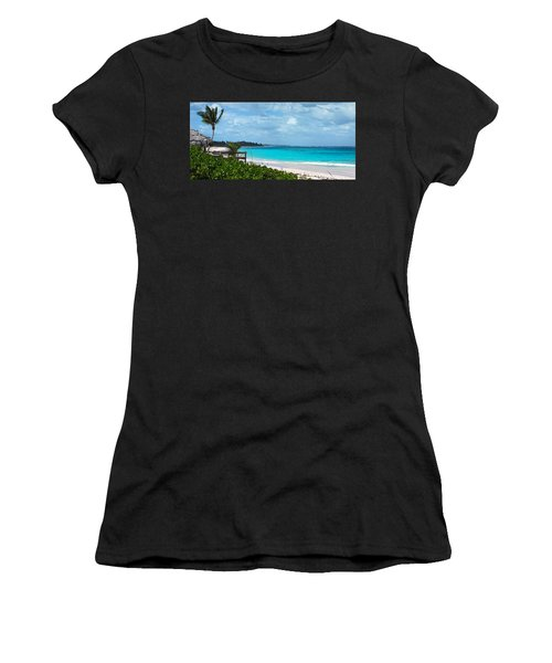 Beach At Tippy's Women's T-Shirt (Athletic Fit)