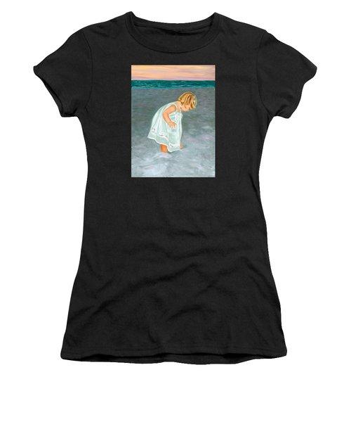 Beach Baby In White Women's T-Shirt