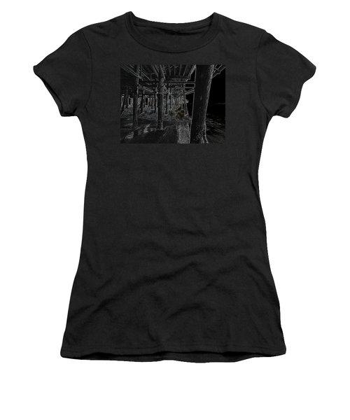 Beach Pier  Underworld  Women's T-Shirt