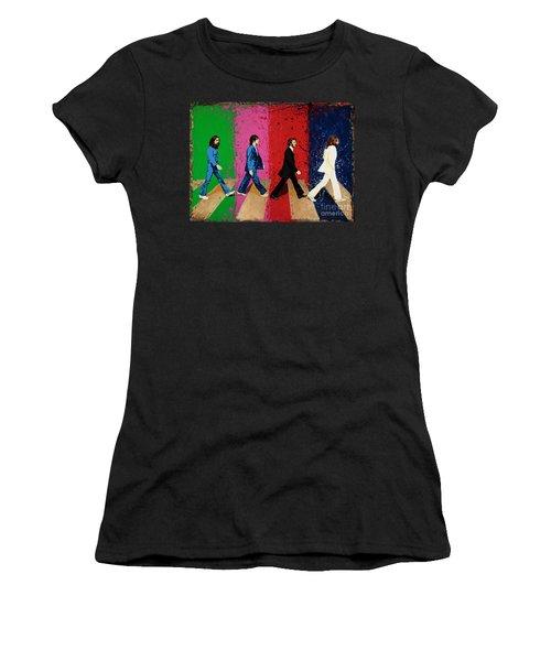 Beatles Crossing Women's T-Shirt