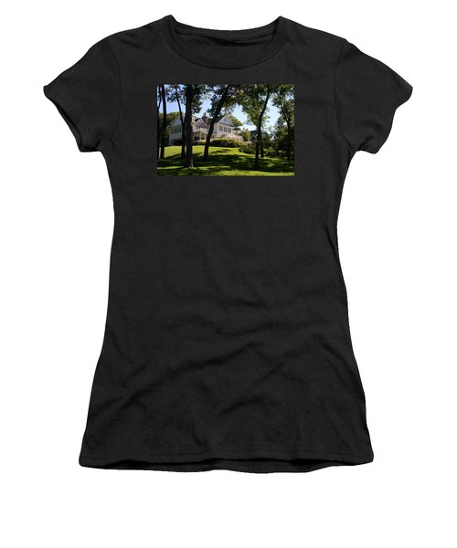 Beautiful Hillside Home Women's T-Shirt (Athletic Fit)