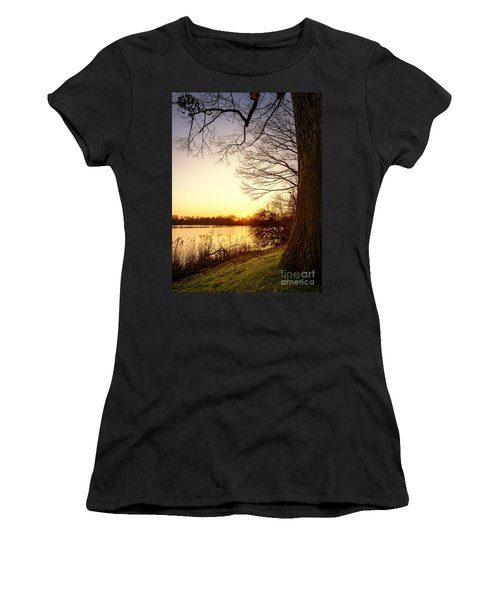 Beautiful Lake Women's T-Shirt (Athletic Fit)