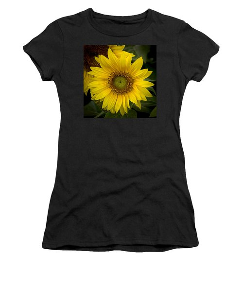 Beautiful Sunflower Women's T-Shirt (Athletic Fit)