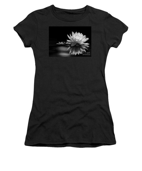 Beautiful Water Lily Reflections Women's T-Shirt