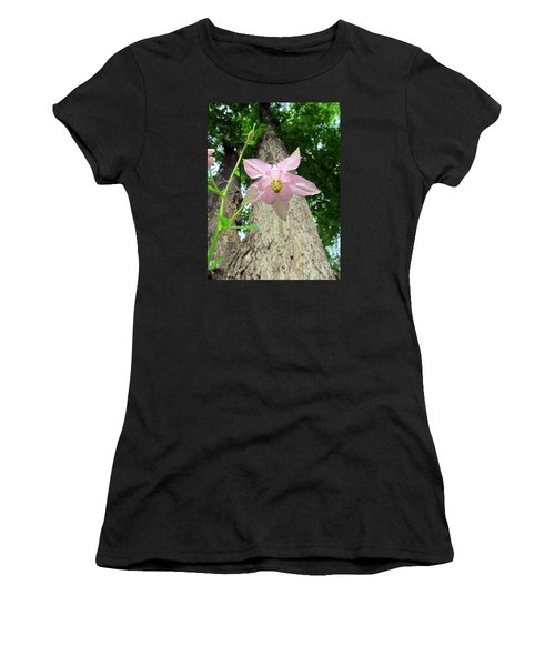 Beauty From Below Women's T-Shirt (Athletic Fit)