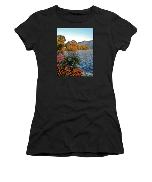 Beauty Of Lake Lugano Women's T-Shirt (Athletic Fit)