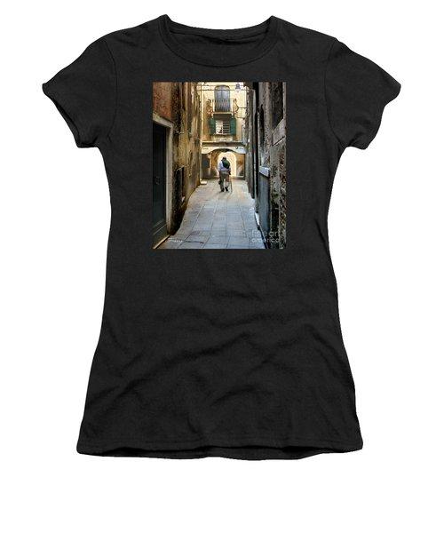 Women's T-Shirt (Junior Cut) featuring the photograph Beginning Of An End by Jennie Breeze