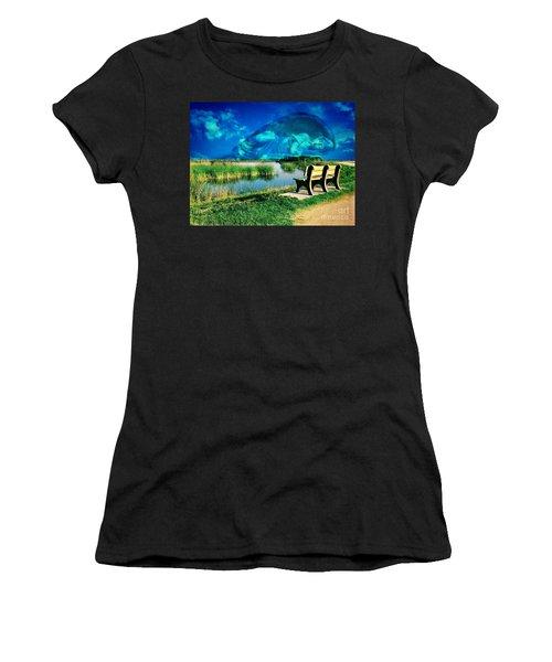 Believe In Your Dreams Women's T-Shirt (Junior Cut) by Carlos Avila