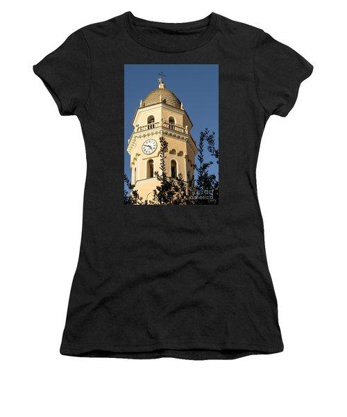 Bell Tower Of Vernazza Women's T-Shirt