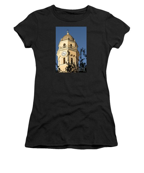 Bell Tower Of Vernazza Women's T-Shirt