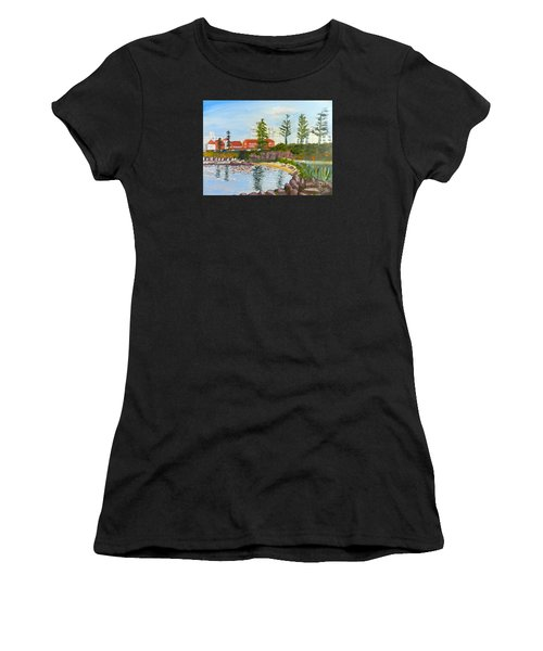 Belmore Basin From The North Sea Wall Women's T-Shirt (Athletic Fit)