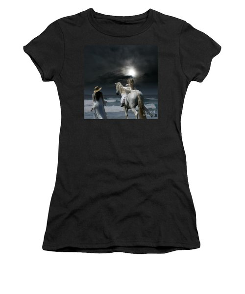 Beneath The Illusion In Colour Women's T-Shirt (Athletic Fit)