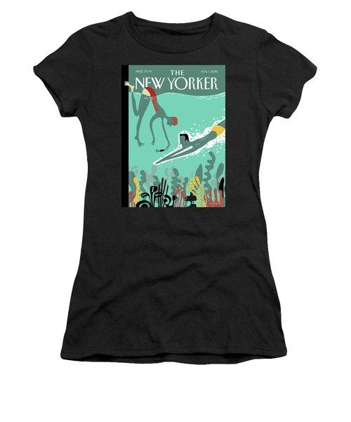 Beneath The Waves Women's T-Shirt