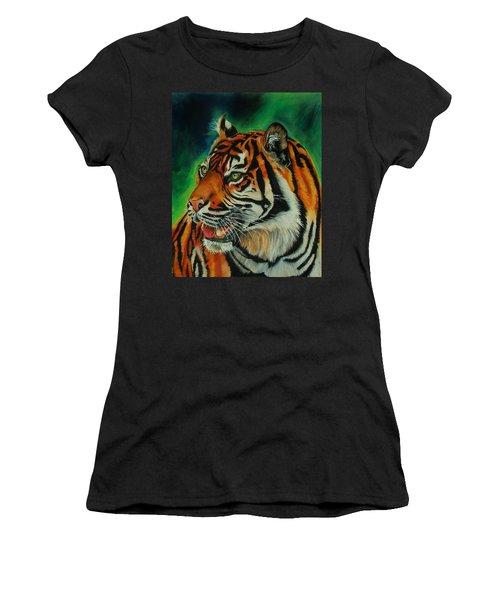 Bengal Women's T-Shirt (Junior Cut) by Jean Cormier