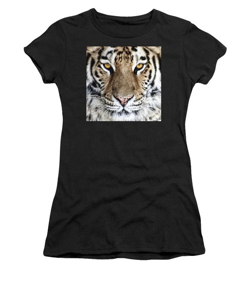 Bengal Tiger Eyes Women's T-Shirt (Athletic Fit)