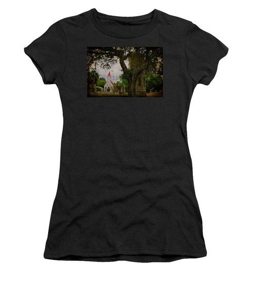Bethany Cemetery Entryway Women's T-Shirt