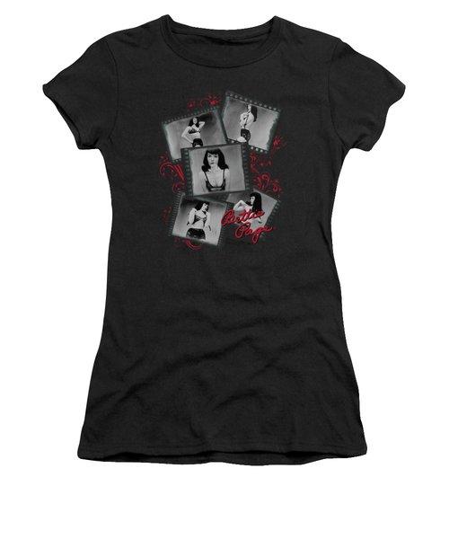 Bettie Page - Exposure Women's T-Shirt