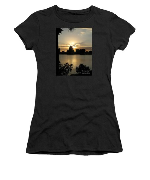 Between Day And Night Women's T-Shirt (Athletic Fit)
