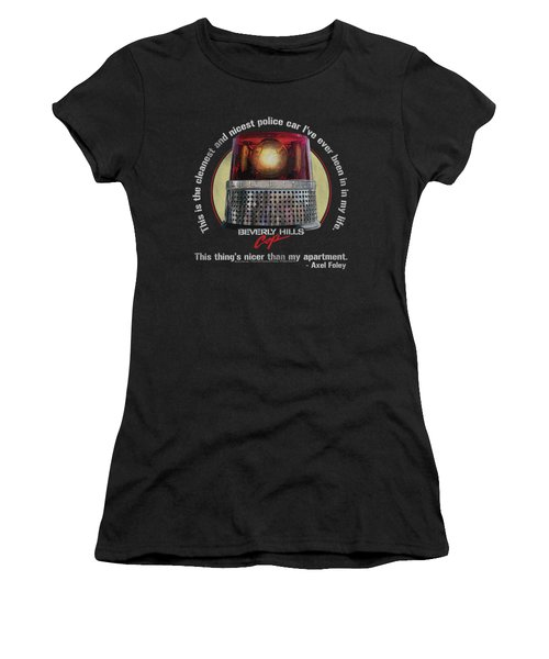 Bhc - Nicest Police Car Women's T-Shirt (Athletic Fit)