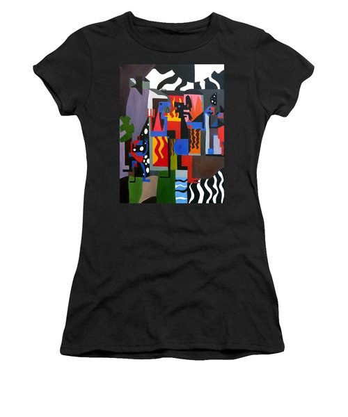 Bicloptochotik Women's T-Shirt (Junior Cut) by Ryan Demaree