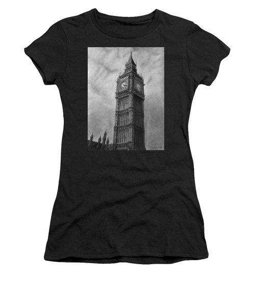 Big Ben London Women's T-Shirt (Athletic Fit)