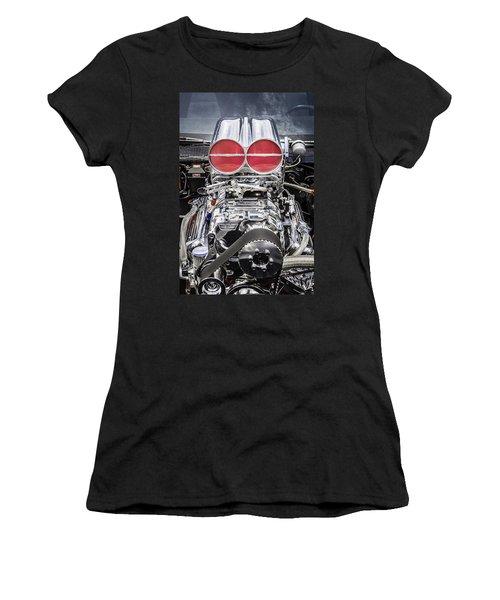 Big Big Block V8 Motor Women's T-Shirt (Athletic Fit)