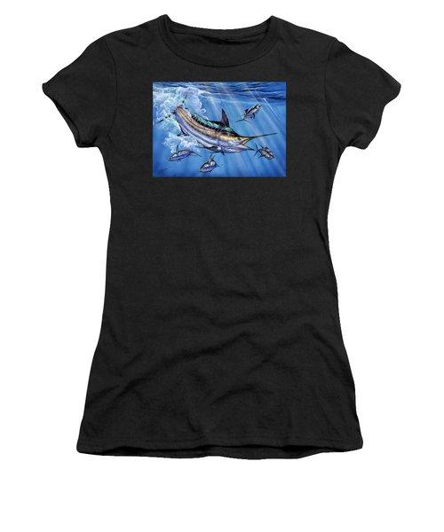Big Blue And Tuna Women's T-Shirt