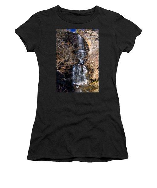 Big Bradley Falls 2 Women's T-Shirt (Junior Cut) by Chris Flees
