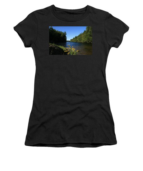 Women's T-Shirt (Junior Cut) featuring the photograph Bigelow Hollow  by Neal Eslinger